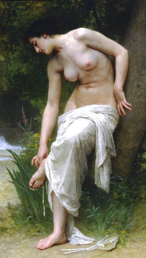 William-Adolphe Bouguereau - Apres Le Bain