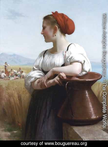 William-Adolphe Bouguereau - Moissoneuse