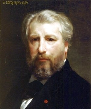 William-Adolphe Bouguereau - Portrait De Lartiste