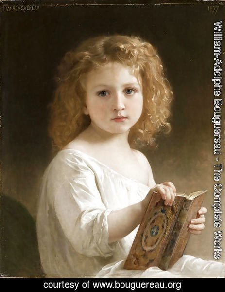 William-Adolphe Bouguereau - Story Book