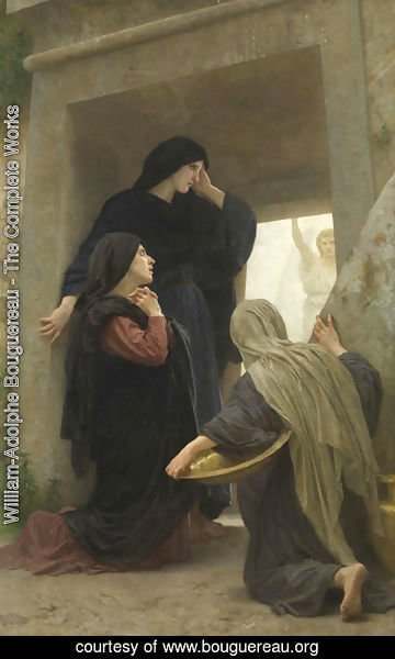 William-Adolphe Bouguereau - Three Marys at the Tomb