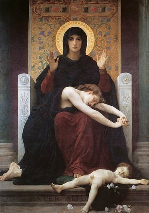 William-Adolphe Bouguereau - Vierge Consolatrice