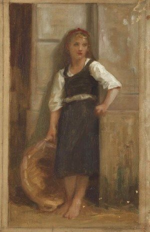 William-Adolphe Bouguereau - Etude pour La fille du pecheur