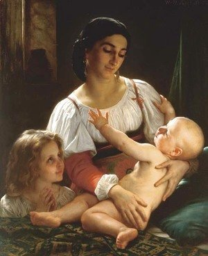 William-Adolphe Bouguereau - Le Reveil