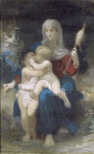 A Study for Sainte Famille