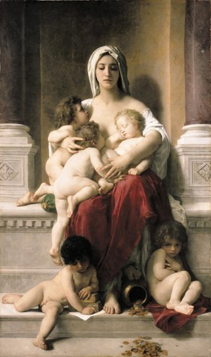 William-Adolphe Bouguereau - La Charite
