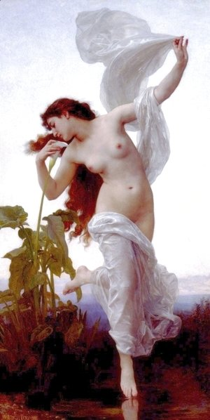 William-Adolphe Bouguereau - Dawn (L'Aurore)