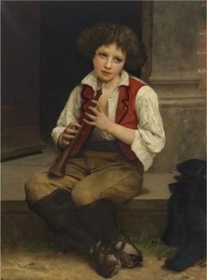 William-Adolphe Bouguereau - Pifferaro