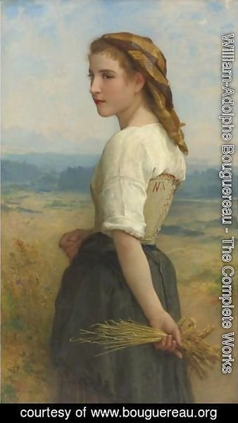 William-Adolphe Bouguereau - Glaneuse