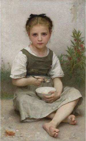 William-Adolphe Bouguereau - Le Dejeuner Du Matin