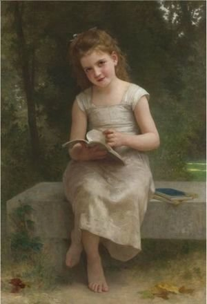 William-Adolphe Bouguereau - La Liseuse