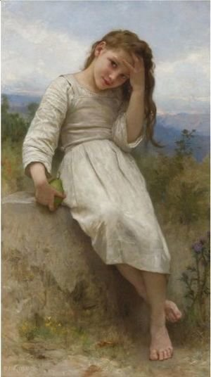 William-Adolphe Bouguereau - La Petite Maraudeuse