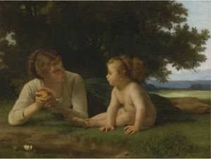 William-Adolphe Bouguereau - La Tentation