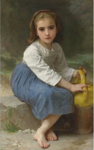 William-Adolphe Bouguereau - Jeune Fille A La Cruche