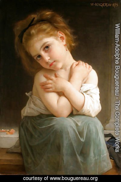 William-Adolphe Bouguereau - The chilly