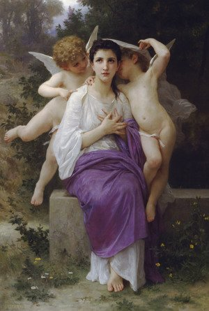 William-Adolphe Bouguereau - Leveil Heart