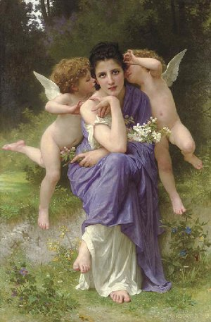 William-Adolphe Bouguereau - Songs of Spring