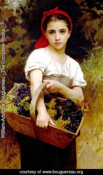 William-Adolphe Bouguereau - Harvester