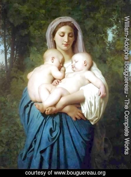 William-Adolphe Bouguereau - The Charity