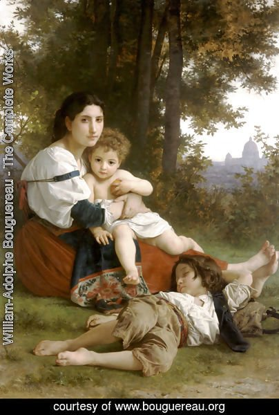 William-Adolphe Bouguereau - Mother and Children