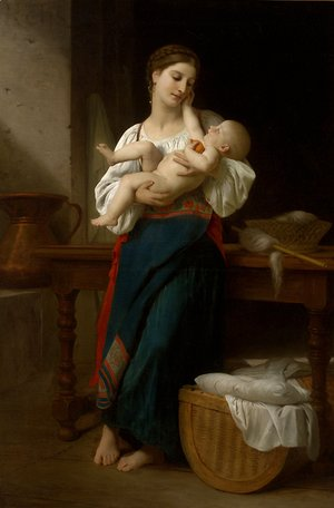 William-Adolphe Bouguereau - Unknown 4