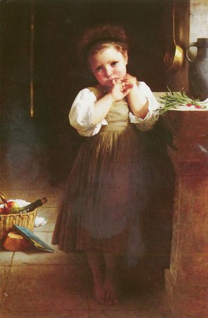 William-Adolphe Bouguereau - Little sulky 2