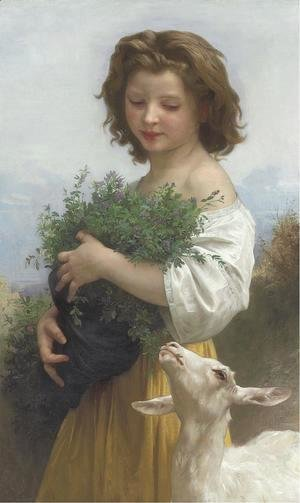 William-Adolphe Bouguereau - Little Esmeralda