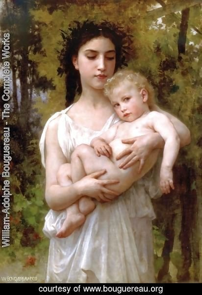William-Adolphe Bouguereau - The younger brother