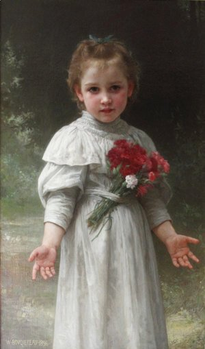 William-Adolphe Bouguereau - Yvonne 2