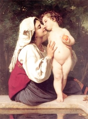 William-Adolphe Bouguereau - The Kiss