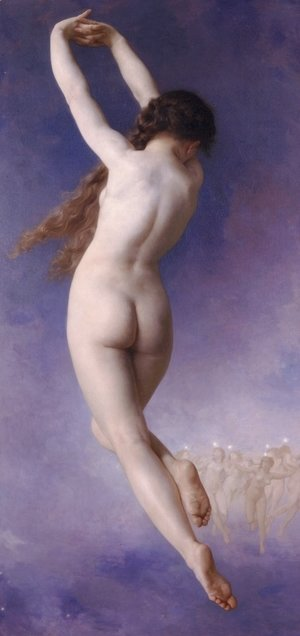 William-Adolphe Bouguereau - Letoile lost