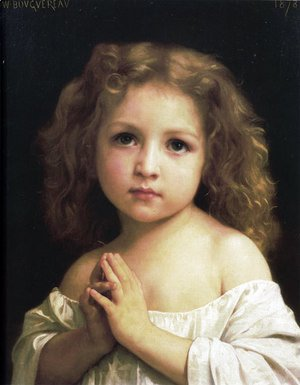William-Adolphe Bouguereau - Prayer 2