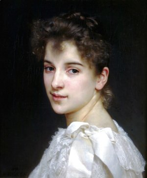 William-Adolphe Bouguereau - Gabrielle Cot 1890
