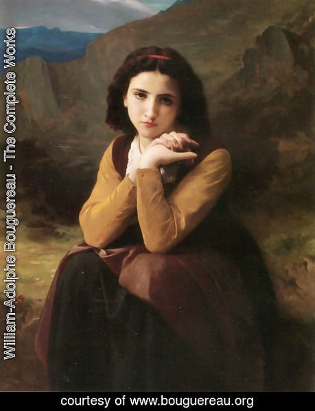William-Adolphe Bouguereau - Mignon Pensive