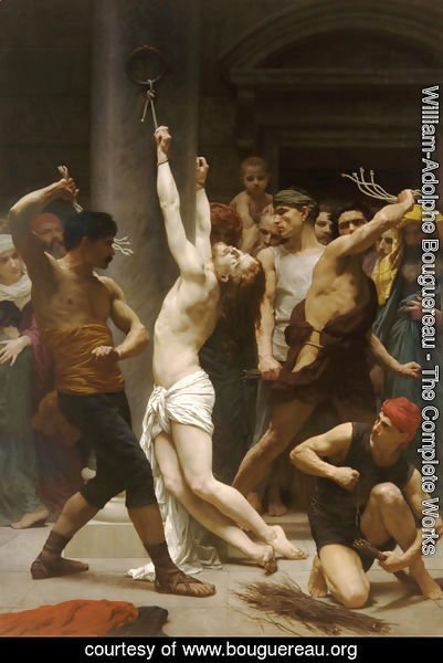 William-Adolphe Bouguereau - The Flagellation Of Christ