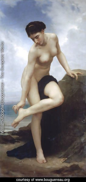 William-Adolphe Bouguereau - Apres Le Bain 1875