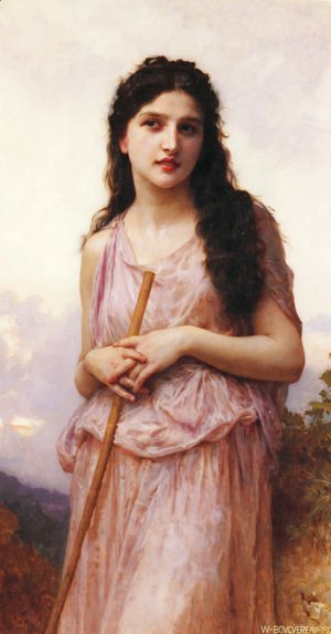 William-Adolphe Bouguereau - Bougueraeu  Meditation