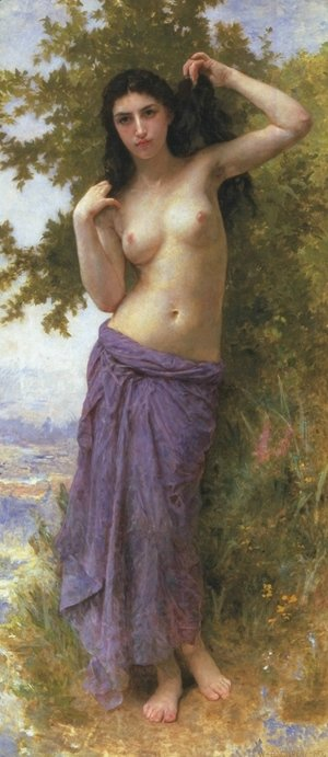 William-Adolphe Bouguereau - Beaute Romane 1904