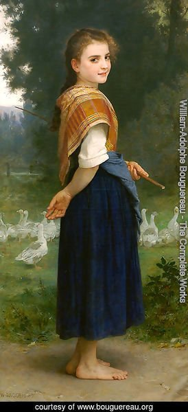 The Goose Girl 1891
