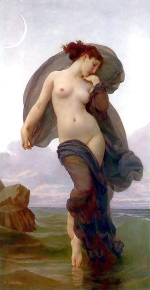 William-Adolphe Bouguereau - Evening Mood