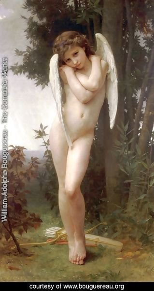 William-Adolphe Bouguereau - Cupidon 1891
