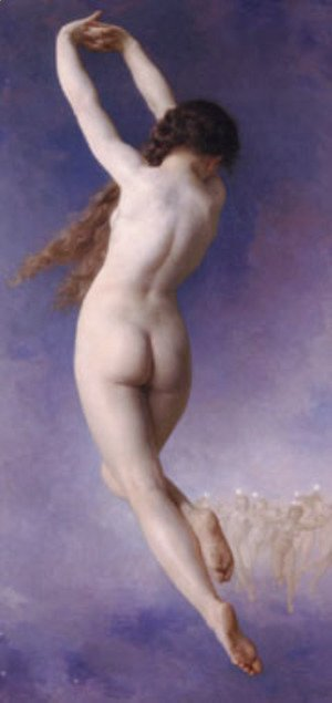 William-Adolphe Bouguereau - Letoile Perdue