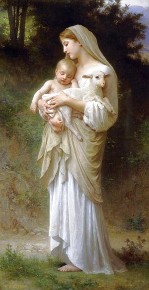 William-Adolphe Bouguereau - Linnocence
