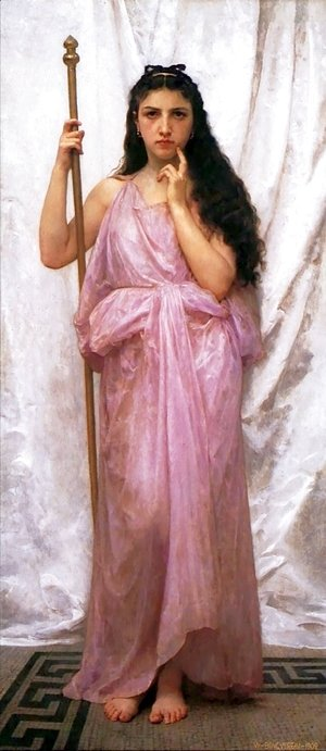 William-Adolphe Bouguereau - Priestess
