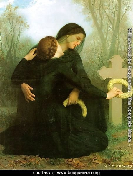 All Saints' Day (Le jour des morts) 1859