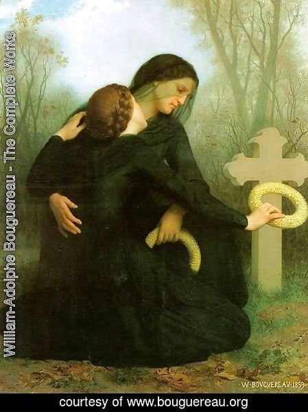 William-Adolphe Bouguereau - All Saints' Day (Le jour des morts) 1859