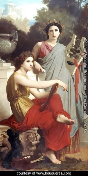 William-Adolphe Bouguereau - Art & Literature 1867