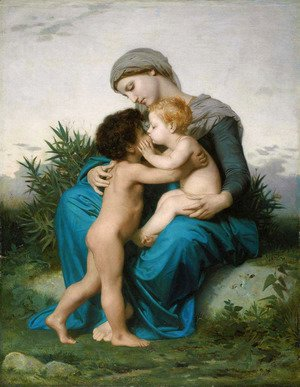 William-Adolphe Bouguereau - Fraternal Love 1851