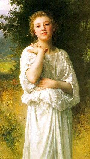 William-Adolphe Bouguereau - Girl 1895