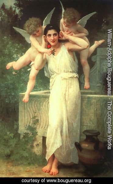 William-Adolphe Bouguereau - Innocence 1890